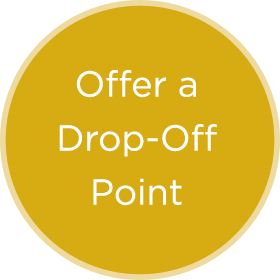 Offer a Drop-Off Point